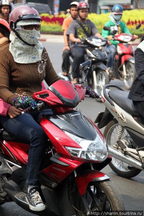Мотоциклистска в платке