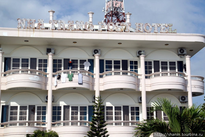 Почтовый отель на берегу моря