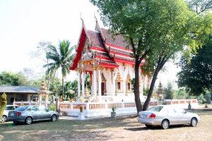 Храм для особо торжественных случаев. Церемония проходила в другом — более жилом — храме этого же монастыря