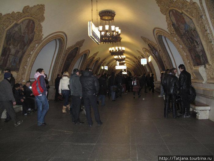метростанция Киевская