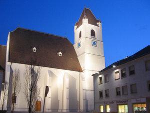 Цековь Святого Мартина. Церквей в Айзенштадте, к слову, удивительно немного.