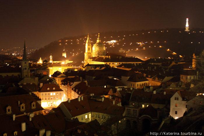 Фото, сделанное со стороны Пражского града.