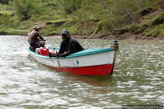 вскоре наша лодка