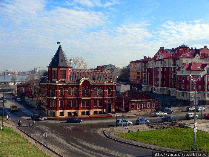 Вид с кремлевского холма.