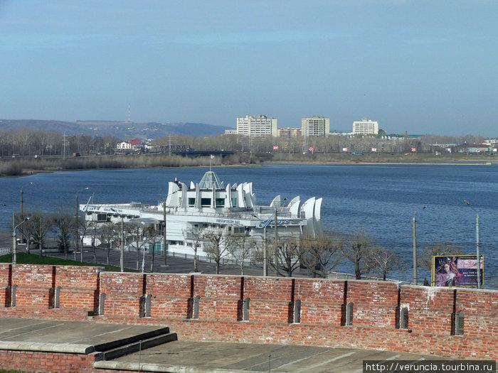 река Казанка.