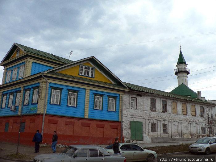 Старая татарская часть города.