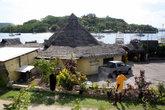 Дом с крышей из тростника