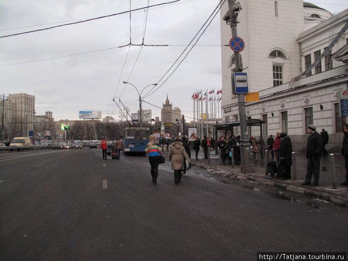 совершенно верно  -это был Киевский вокзал....