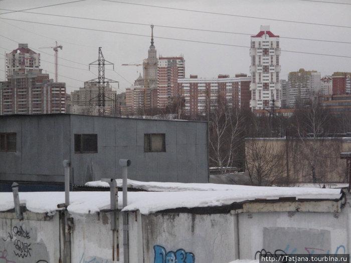 кажется Москва близко