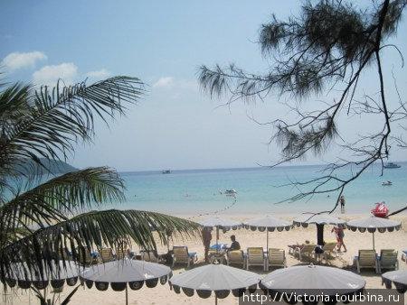 Пляж Ката.