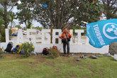 Лас Грутас- аргентинский курортный городок Ну и флаг Турбины здесь побывал!
