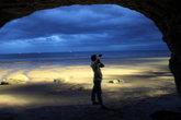 Своды пещеры спасли нас от ливня