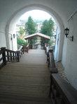 пешеходный спуск в нижний Тобольск