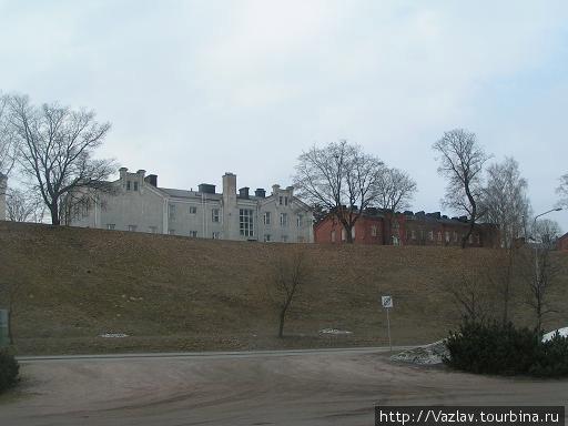 Подходы к крепости