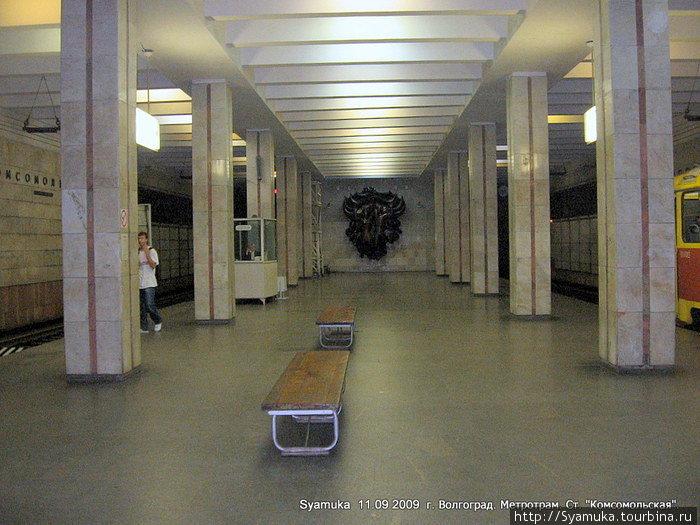 Станцию с колоннами у метростроевцев принято называть