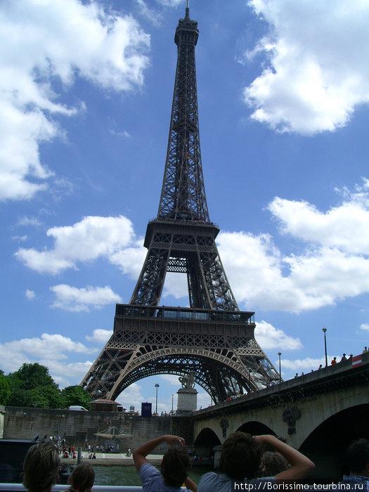 Да, это она — Эйфелева башня!