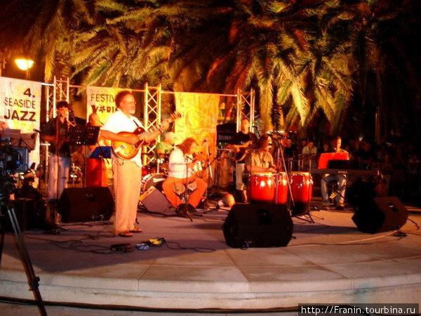 вечера джазовой музыки на открытом