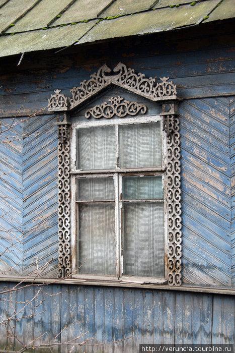 Дом с наличниками на Горной.