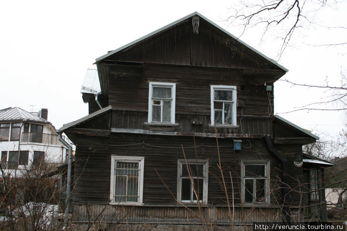 Дом 1899 года постройки.