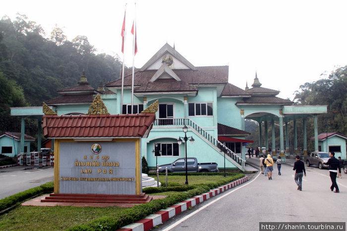 На вьетнамско-лаосской границе