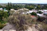 Вид на центр Гаймана с холма