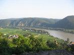 С горы открывается вид на Дунай