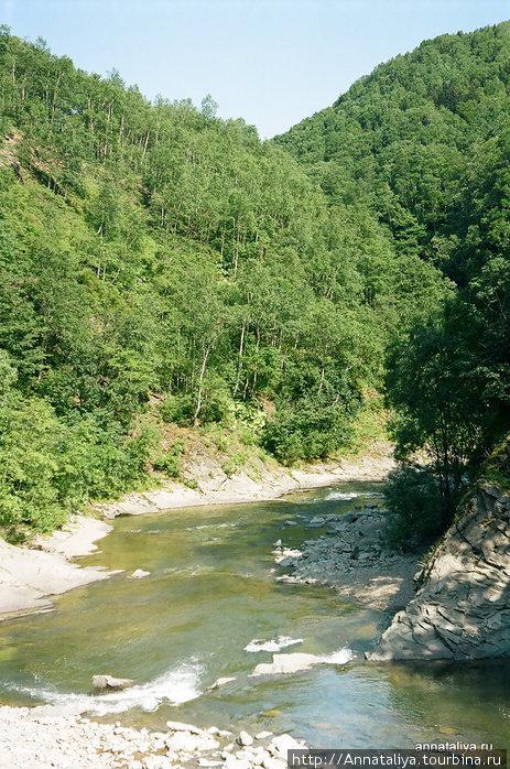 Река Красноярка Быков, Россия