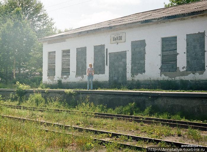 Железнодорожная станция Быков Быков, Россия