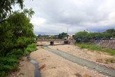 Река — на пути от автовокзала к центру города