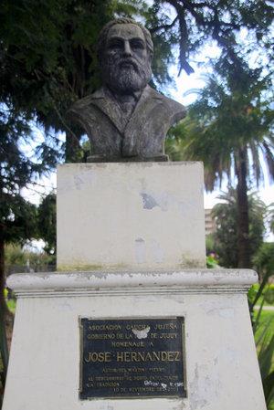 Бюст Хосе Хернандеса