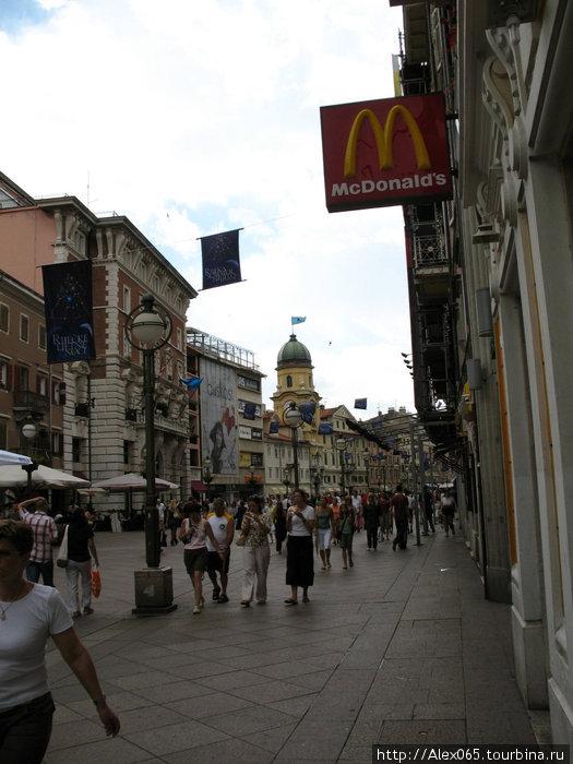 Пешеходная улица Корзо