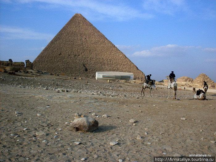 Одна из пирамид