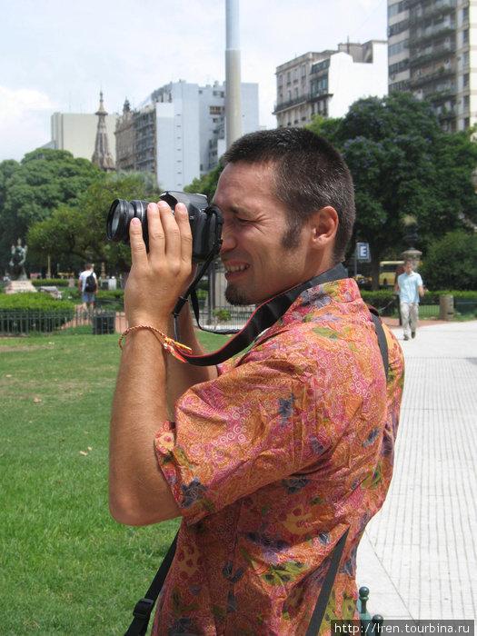 С этого фотоаппарата на турбине много прекрасных фотографий)