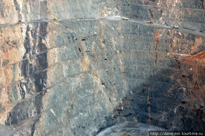 Глубина Супер Пита 360 метров