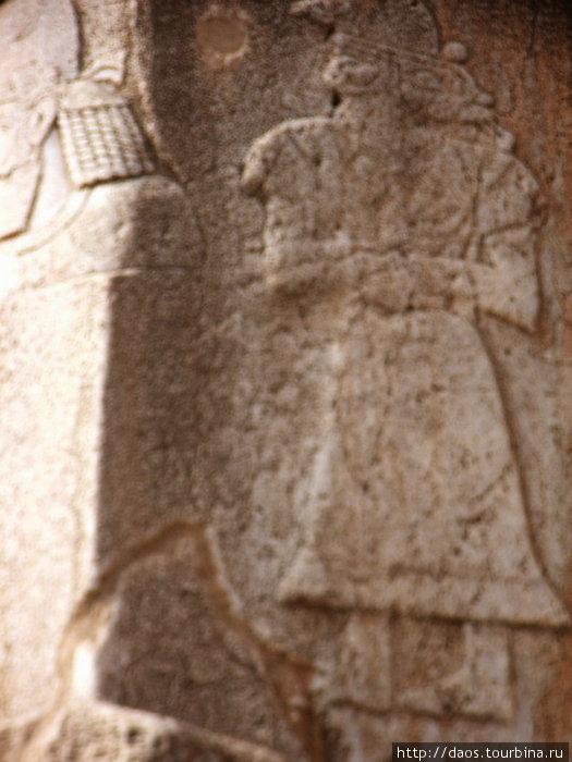 Эламский воин. Самый древний барельеф