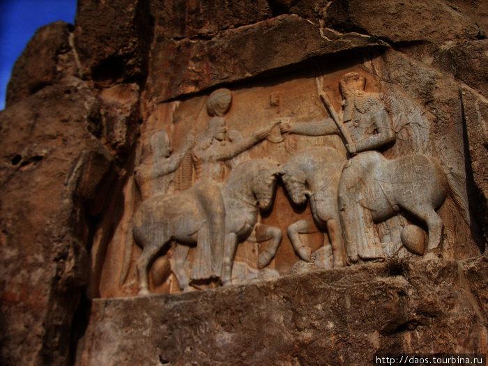 Посвящение Ардашира в цари