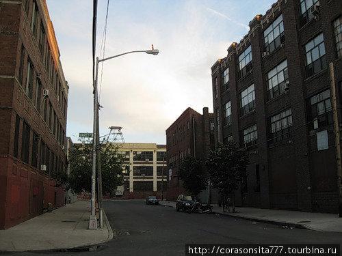 Бруклин, район нашего хостела