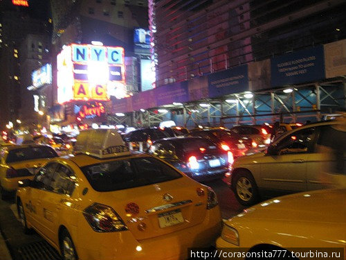 город желтых такси...