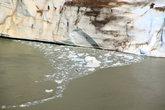 Ледник постепенно разрушается