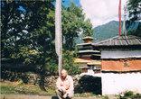 В заднем дворе Кюйчу-Лакханг