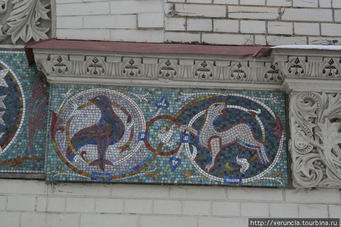 Мозаика Казанского собора.