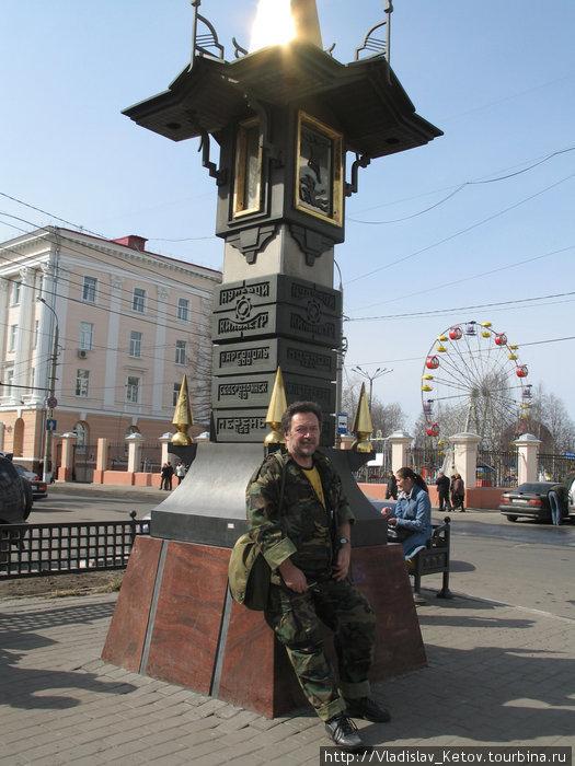 В центре Архангельска.