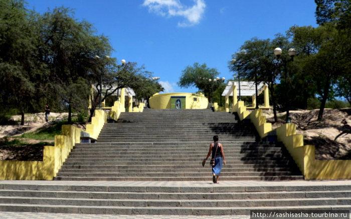 Вход в парк с восточной стороны.