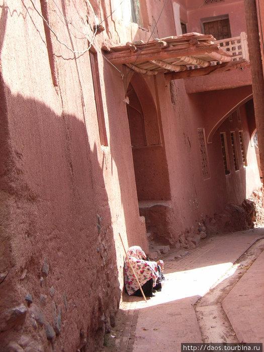 Абьяне: Город III века где растут ивы Абеяне, Иран