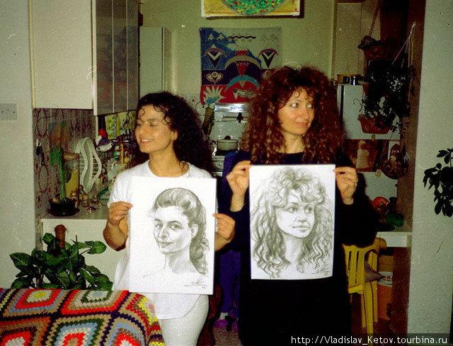Девушки с Кипра.
