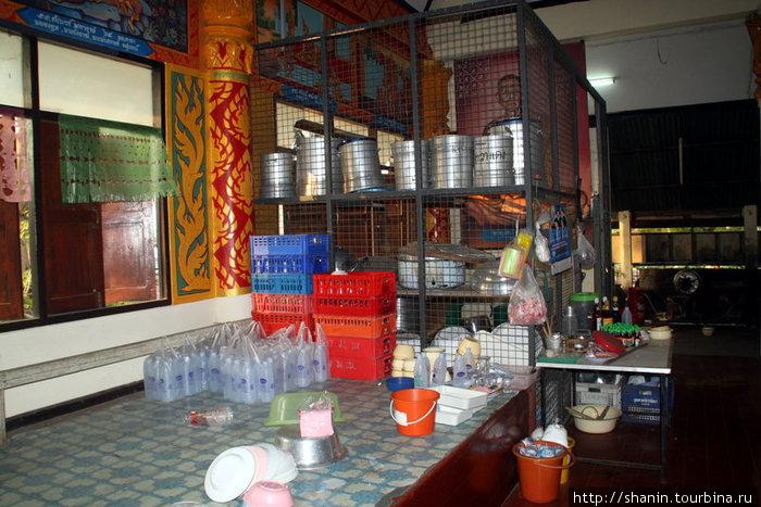 Мини-кухня в храме