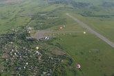 А вот и аэродром, цель нашего полета.