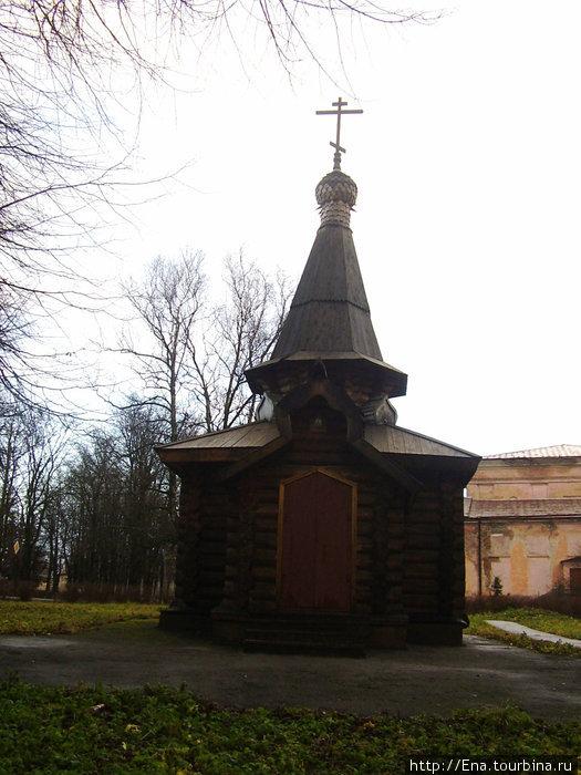 Часовня на месте бывш. Смоленской церкви