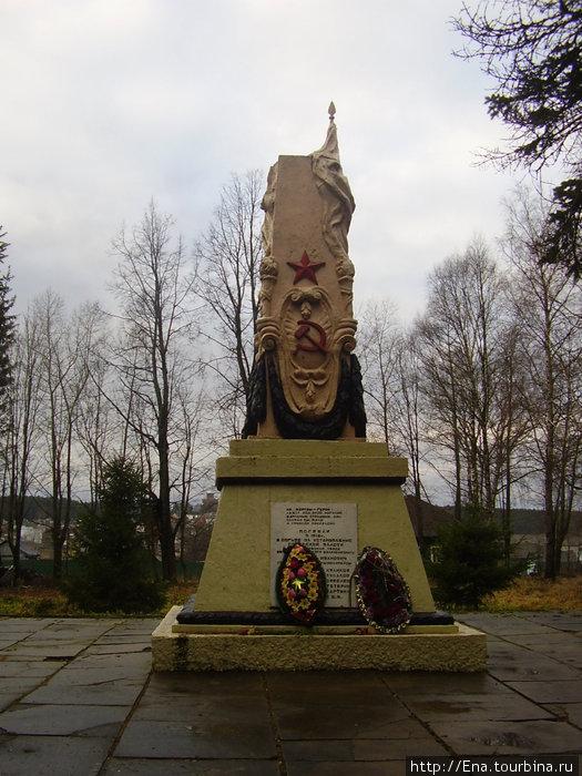 Данилов-декабрь 2008. Обелиск
