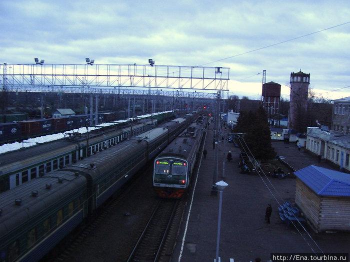 Данилов-декабрь 2008. Вокзал